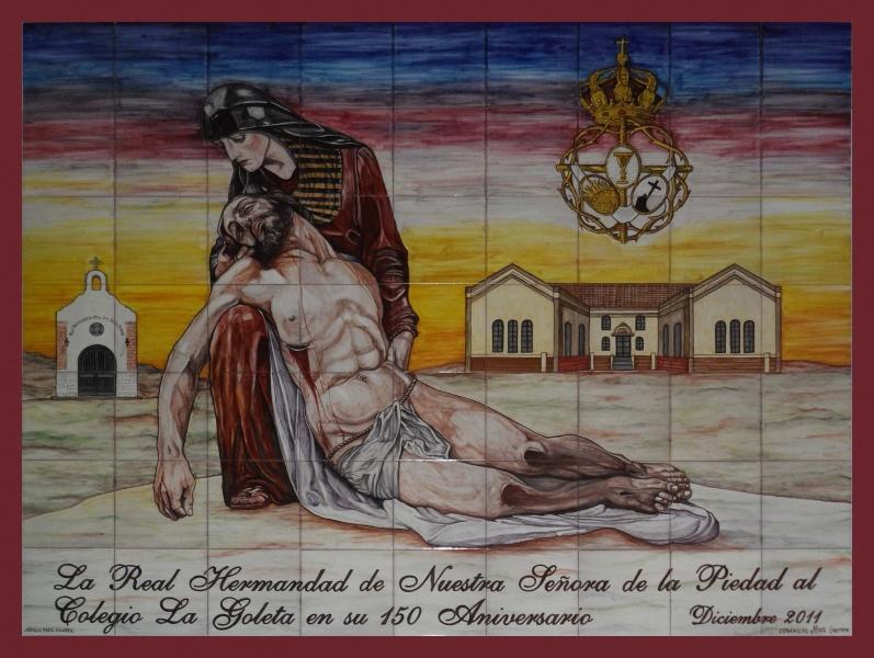 Murales religiosos murales de cer mica tiles and murals of ceramic - Murales de ceramica ...