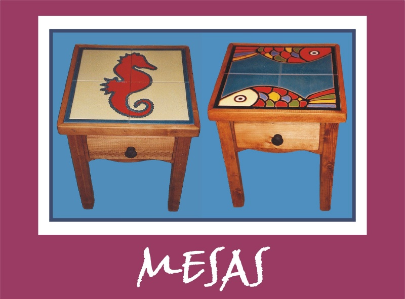 Cenefas platos mesas y espejos murales de cer mica - Murales de ceramica artistica ...