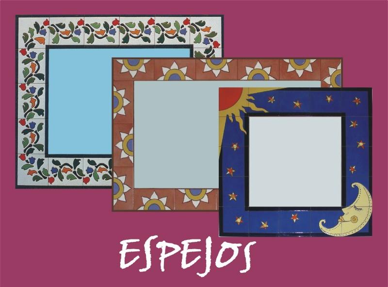 Cenefas platos mesas y espejos murales de cer mica - Cenefas para espejos ...